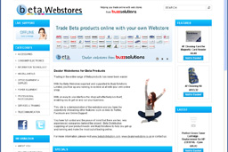 The Beta Webstore sell Beta's entire product catalogue on-line