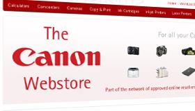 Canon Webstore Online Web Shop