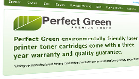 Perfect Green Online Web Shop