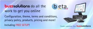 Beta e-commerce web store with free setup