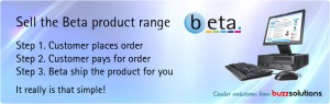 Sell the Beta product catalogue with the Beta web store